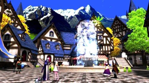 精美城镇截图欣赏 《神之刃》唯美画面